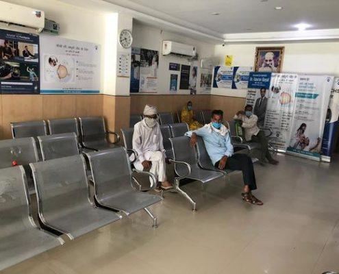 EYE-Q India Sirsa Clinic Waiting Hall