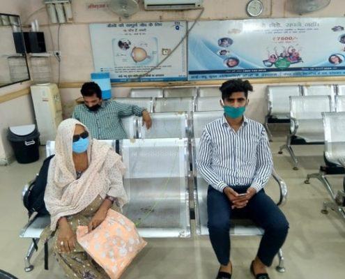 EYE-Q India Fatehabad Hospital Covid Safe Waiting Room