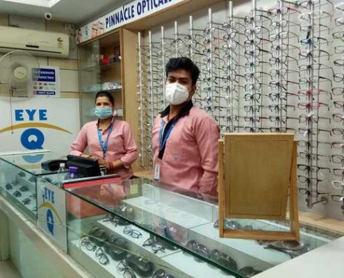 Eye-Q India Swaroop Nagar Kanpur Opticals